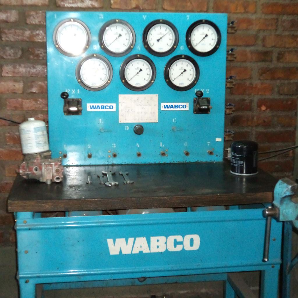 Banco de prueba de válvulas WABCO